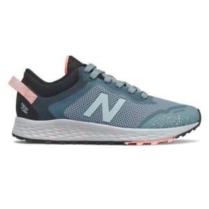 New Balance Fresh Foam Arishi Trail - Kids Trail Running Shoes - Grey/Pink