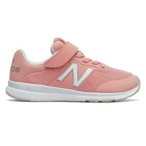 New Balance Premus Velcro - Kids Running Shoes - Grey/Pink