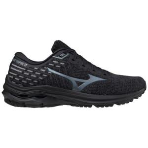 Mizuno Wave Inspire 17 Waveknit - Mens Running Shoes - Obsidian/Turbulence
