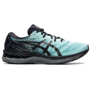 Asics Gel Nimbus 23 - Mens Running Shoes - Clear Blue/Gunmetal