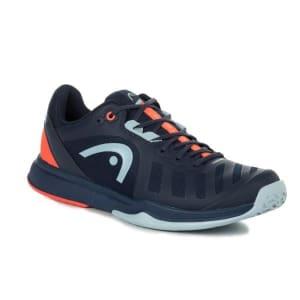 Head Sprint Team 3.0 Mens Tennis Shoes - Dress Blue/Neon Red