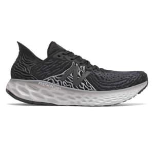 New Balance Fresh Foam 1080v10 - Mens Running Shoes - Black/White