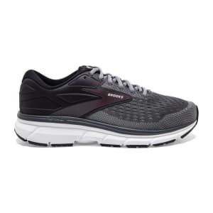 Brooks Dyad 11 - Mens Running Shoes - Blackened Pearl/Alloy/Red