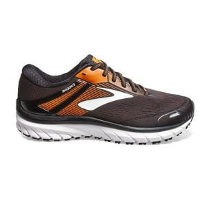 Brooks Defyance 11 - Mens Running Shoes - Black/Orange/Ebony