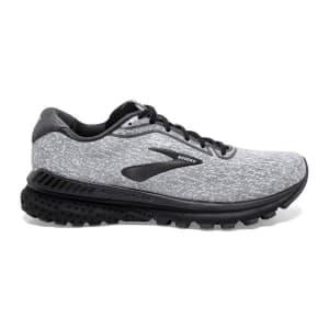 Brooks Adrenaline GTS 20 Knit - Mens Running Shoes - Grey/White/Blackened Pearl