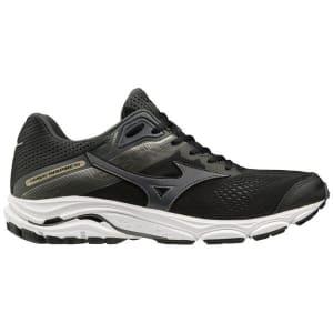 Mizuno Wave Inspire 15 - Mens Running Shoes - Black/Dark Shadow