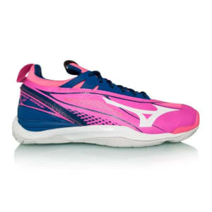 Mizuno Wave Mirage 2 - Womens Netball Shoes - Pink Glow/White