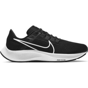 Nike Air Zoom Pegasus 38 - Mens Running Shoes - Black/White/Anthracite/Volt