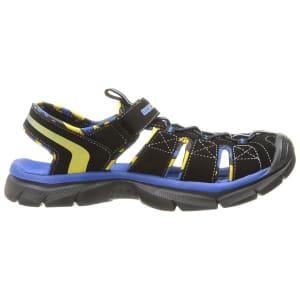 Skechers Relix - Kids Sandals - Black/Royal Blue
