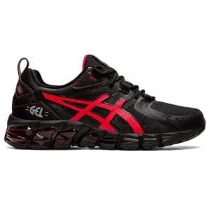 Asics Gel Quantum 180 6 GS - Kids Sneakers - Black/Electric Red