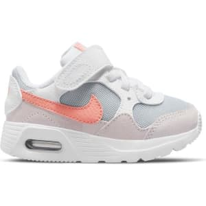 Nike Air Max SC PS - Kids Sneakers - White/Crimson Bliss/Light Violet