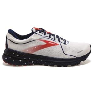 Brooks Adrenaline GTS 21 - Womens Running Shoes - White/Blue/Red