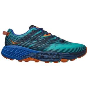 Hoka One One Speedgoat 4 - Mens Trail Running Shoes - Atlantis/Dazzling Blue