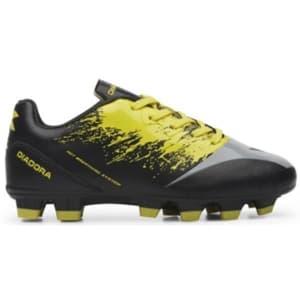 Diadora Venom 6 - Kids Football Boots - Black/Yellow