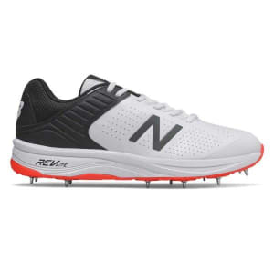 New Balance 4030v4 - Mens Cricket Shoes - White/Black/Red