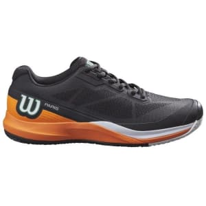 Wilson Rush Pro 3.5 Clay Paris Mens Tennis Shoes - Black/Orange Tiger/White