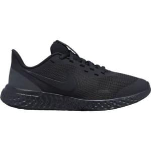 Nike Revolution 5 GS - Kids Running Shoes - Triple Black