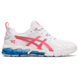 Asics Gel Quantum 180 6 - Womens Sneakers - White/Blazing Coral