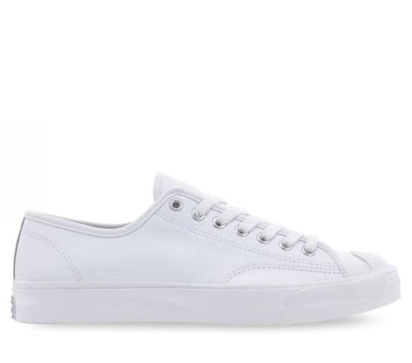 Converse Converse Jack Purcell Foundational Leather Lo White