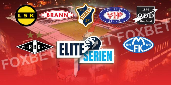 Lag i eliteserien 2019