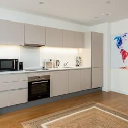 Apartment 119 Kitchen View