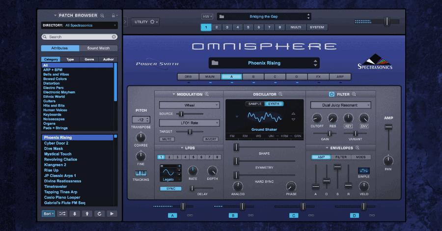 Best soft synths - Omnisphere