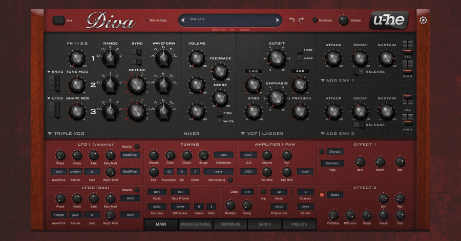 Best Soft Synths - Diva