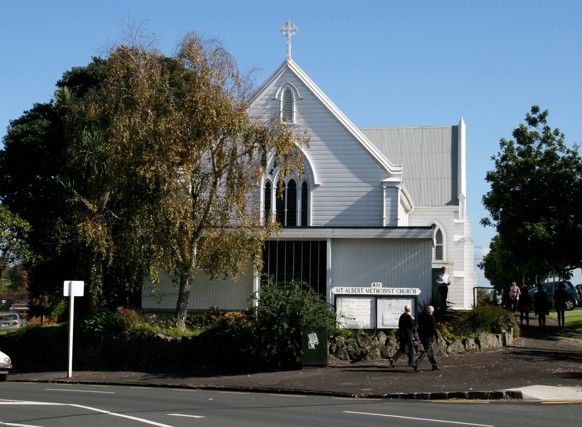 Mt Albert Methodist Church building from New North Road