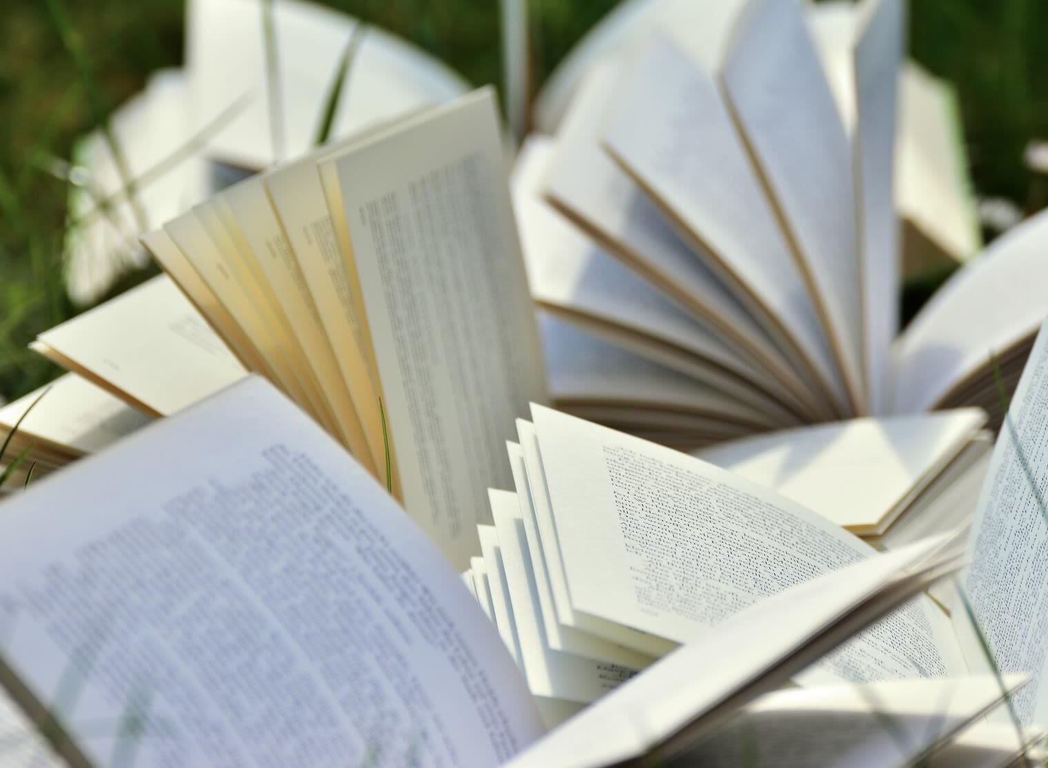 Bøger, åbne