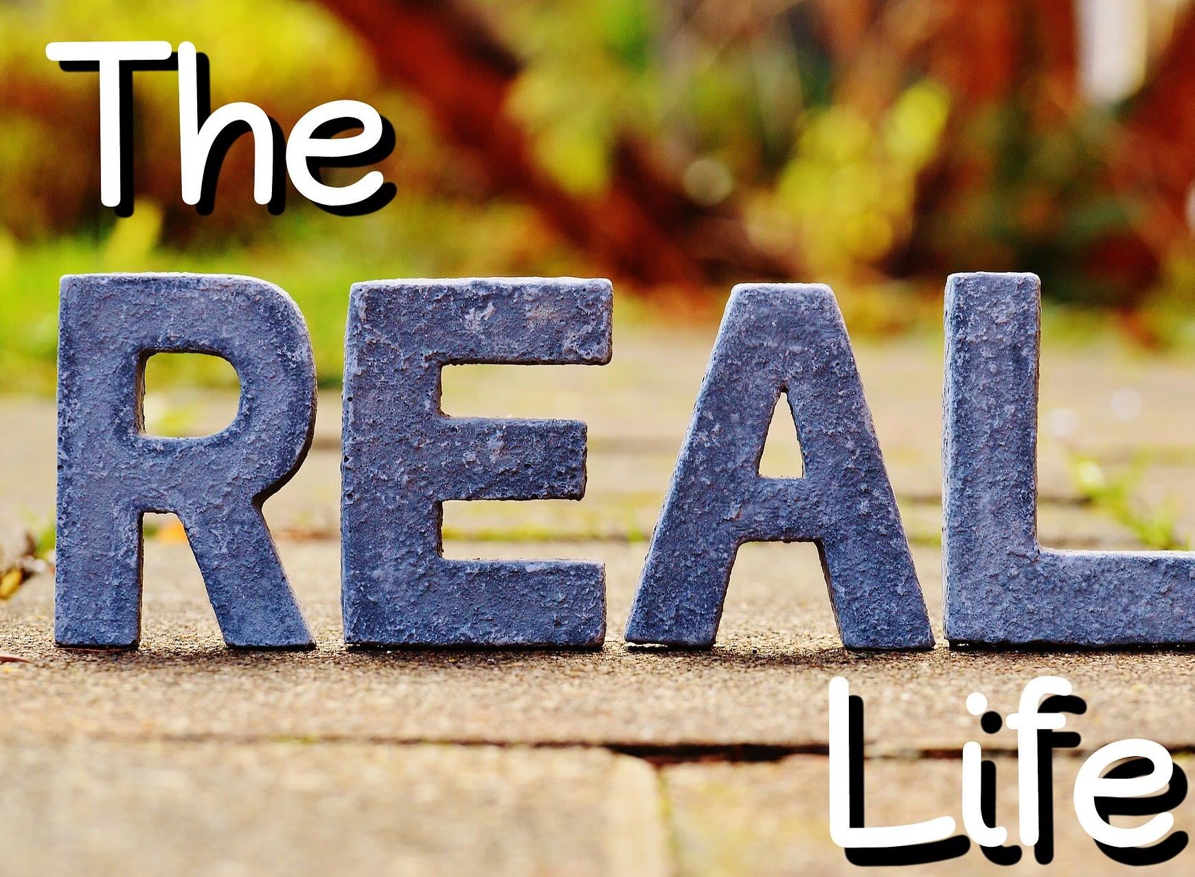 Leve den virkelige virkelighed