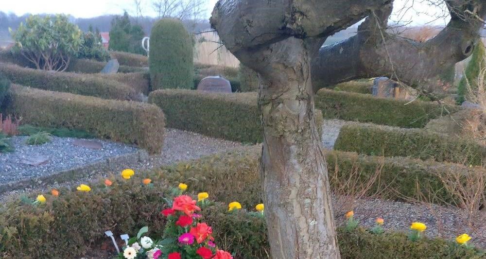 Begravelse - kirkegården