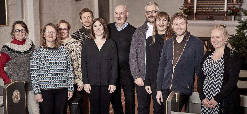 Gruppefoto ansatte lille format