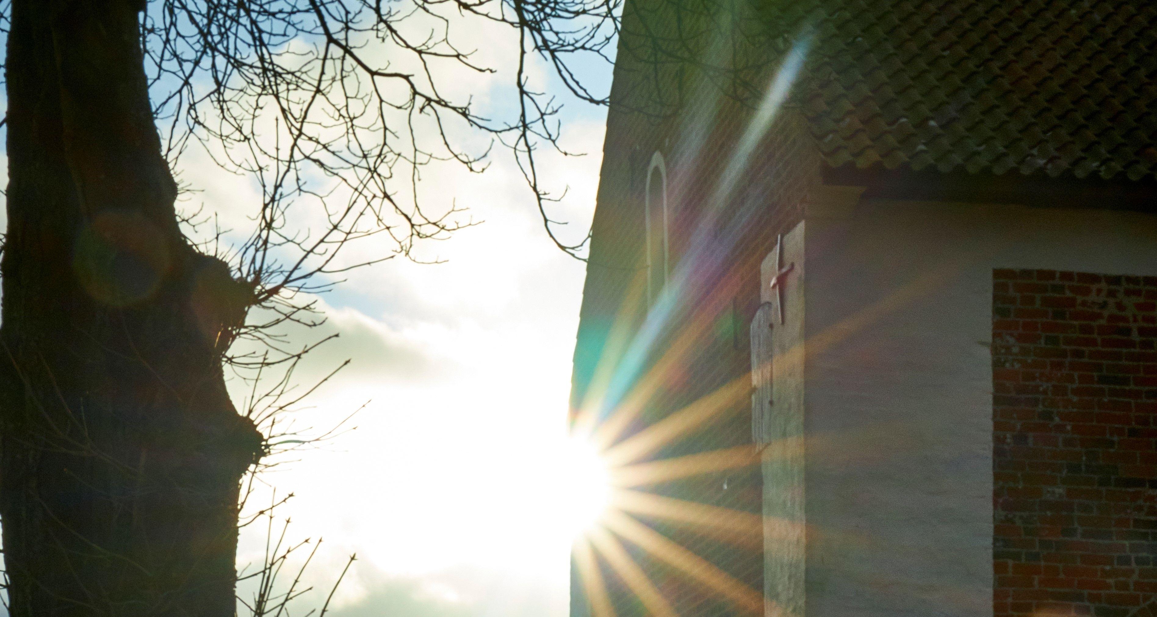 Kirken udendørs vinter #2