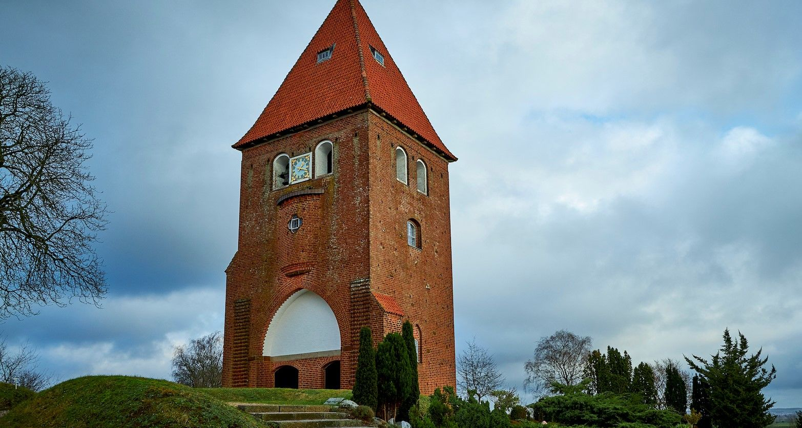Kirketårnet vinter