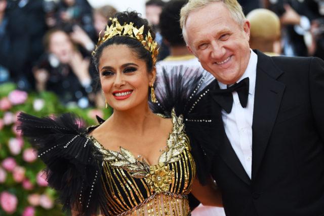 В день рождения супруга Сальмы Хайек Франсуа-Анри Пино: звезды, которые замужем за миллионерами