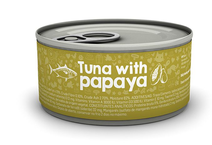 Tuna with papaya package image
