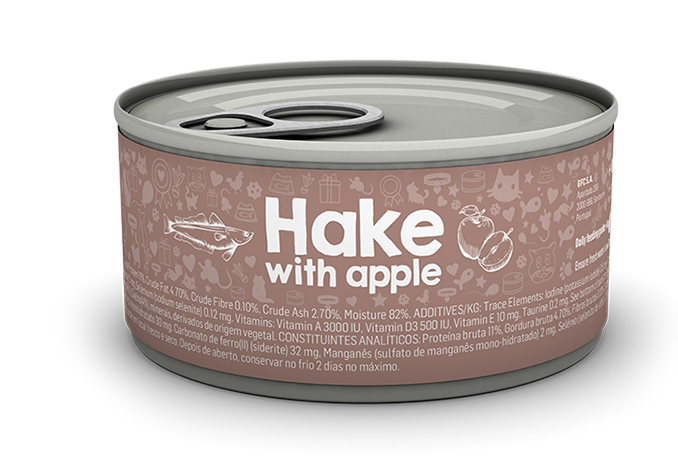 Hake with apple package image