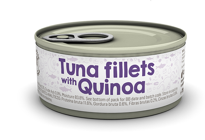 Tuna fillets with Quinoa package image