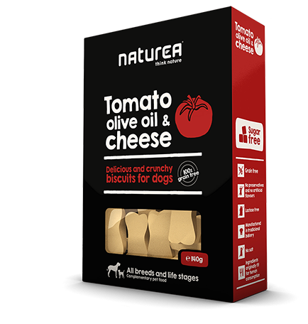 Tomato, olive oil & cheese package image