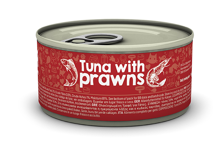 Tuna with prawns package image
