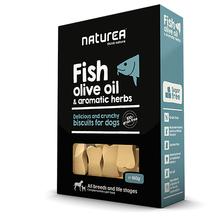 Fish, olive oil & aromatic herbs package image