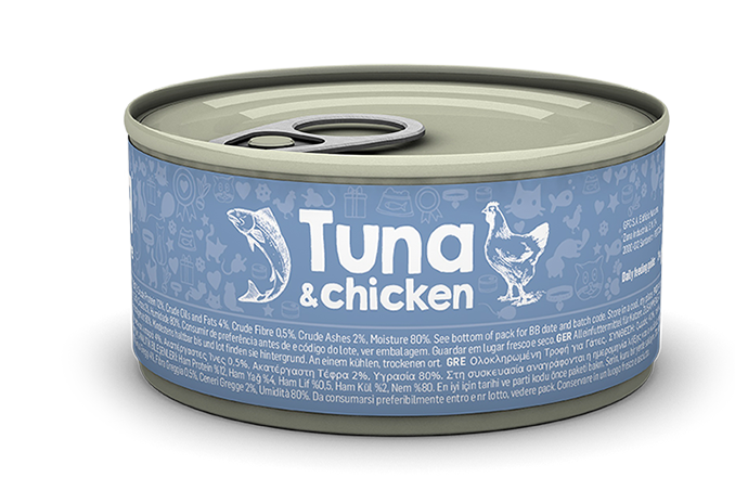 Tuna & chicken package image