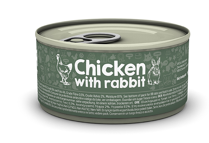 Chicken with rabbit package image