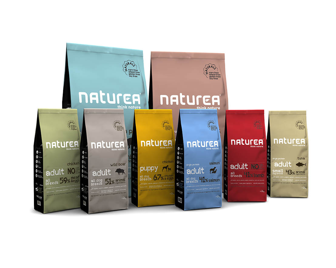 Naturals dry food package image
