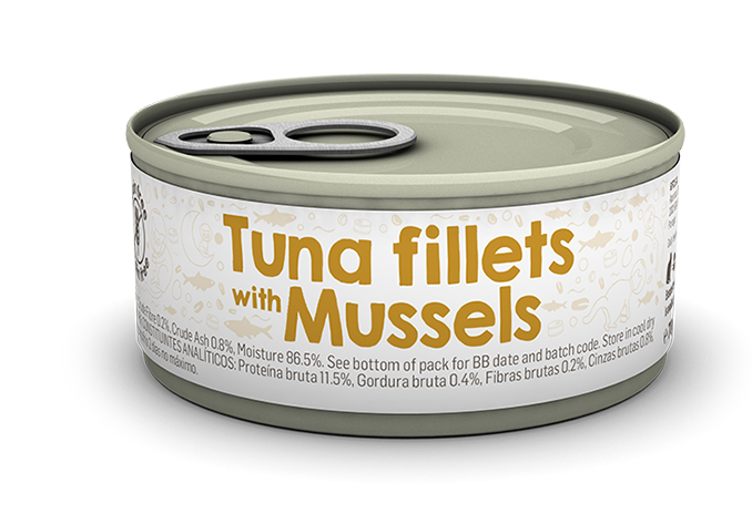 Tuna fillets with Mussels package image