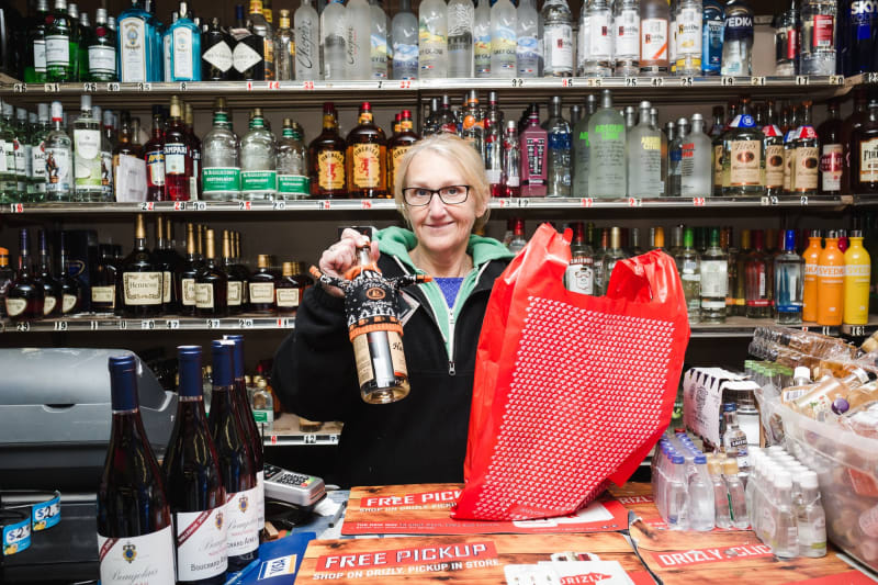 E-commerce liquor store Drizly delivers the booze with a click