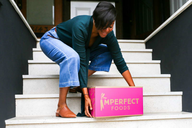 Customers embrace at-home grocery delivery, led by industry innovator Imperfect Foods
