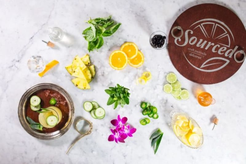 Sourced Craft Cocktails delivery volume grows 100-fold during pandemic as former business customers shift to home orders
