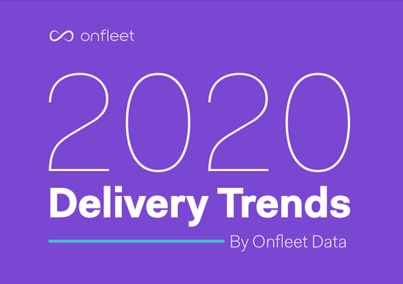 Onfleet shares some trends behind our delivery data in 2020
