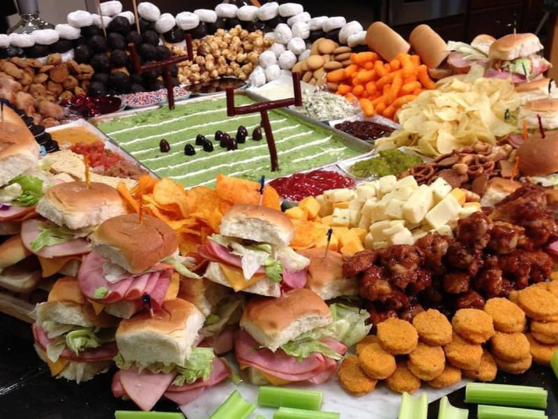 Super Bowl, Snacks, and Delivery